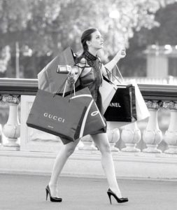 Blair Waldorf Gossip Girl Shopping Spree