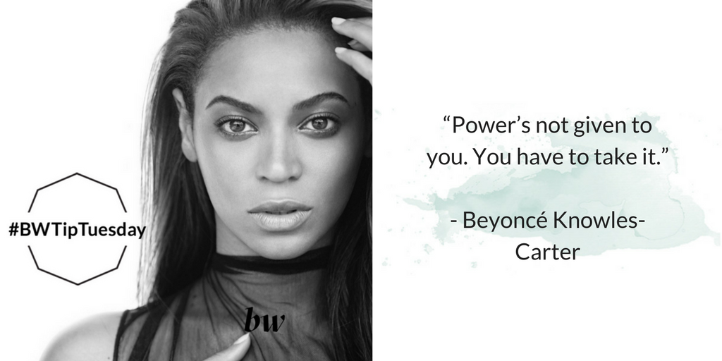 beyonce with quote