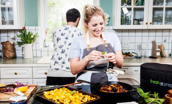 Fresh Prep chef Becky Brauer