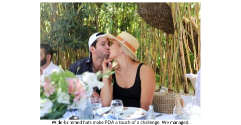 Broad World's Stefanie McAuley and boyfriend share a kiss in St. Tropez